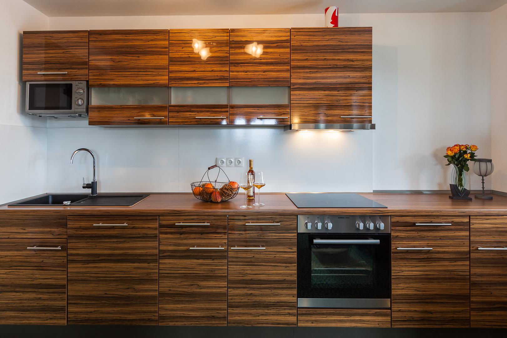irish whiskey themendoppelzimmer, fewo, ferienwohnung mit ... - Küche 3 Meter